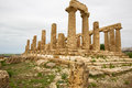 Agrigento, Juno Temple Royalty Free Stock Images