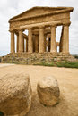 Agrigento, Temple of Concordia Royalty Free Stock Photos