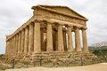 Agrigento, Temple of Concordia Stock Photography