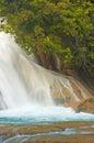 Agua Azul Royalty Free Stock Photo