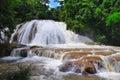 Agua Azul Waterfall, Mexico Royalty Free Stock Photo
