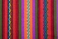 Aguayo andean loom Royalty Free Stock Photo