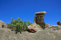 Ah shi sle pah wilderness study area new mexico horizontal shot of hoodoos in over blue sky Royalty Free Stock Photos