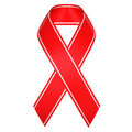 Aids ribbon symbol Royalty Free Stock Photography