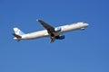 Aigle Azur Airbus A321. Royalty Free Stock Photo