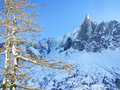 The Aiguille du Dru Stock Photos