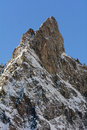 Aiguille noire de peuterey m a s l mont blanc northern italy Stock Photo