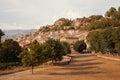 Aiguines, Gorges du Verdon, Alpes-de-Haute-Provence, Provence -Alpes-Cote d'Azur, France Royalty Free Stock Photo