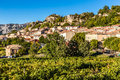 Aiguines Village-Alpes de Haute Provence,France Royalty Free Stock Photo