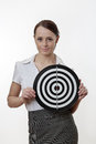 Aim at the  target Stock Image
