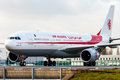 Air algerie Royaltyfria Foton