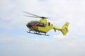 Air ambulance in flight dutch Royalty Free Stock Photos