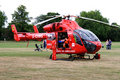 Air Ambulance Rescue, Uxbridge, UK Royalty Free Stock Photo