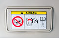 The air bag sign-how to use