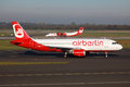 Air Berlin Airbus A320 Royalty Free Stock Photo