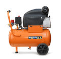 Air compressor isolated Royalty Free Stock Photography