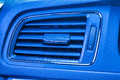 Air condition close view of in car Stock Photography