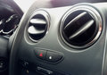 Air conditioner in compact car Royalty Free Stock Photo
