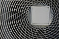 Air conditioner cover Royalty Free Stock Photo