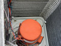 Air Conditioner Heat Pump Compressor Royalty Free Stock Photo
