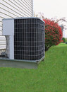 Air Conditioner Outdoor Unit Royalty Free Stock Photos
