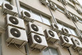Air conditioners Stock Images