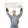 Air conditioning adjuster Stock Photography