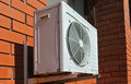 Air conditioning (split system) Royalty Free Stock Photo