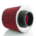 Air cone filter on white background vehicle modification accessories Stock Photography