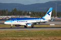 Air estonien Embraer 170 Image libre de droits