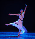 Air flow errand into the maze modern dance choreographer martha graham in december shi feifei dancer work session held in south Stock Photography