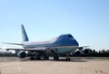 Air Force One Taxiing at JFK International New York City, New York Royalty Free Stock Photo