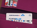 Air France card Royalty Free Stock Photo