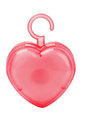 Air Freshener in Heart Shaped Plastic Container Stock Photography