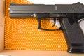 Air gun and pellets Royalty Free Stock Image
