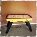 Air hockey table Royalty Free Stock Photo
