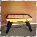 Air hockey table Royalty Free Stock Photo
