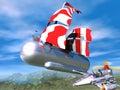 Air nave 3D Royalty Free Stock Image