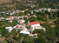 Air photograph amiras heraklion crete greece aerial view of Stock Photography