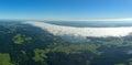 Air photography european alps Stock Photography