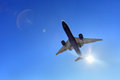 Air plane Royalty Free Stock Photo
