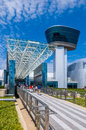 Air and Space Museum entrance Royalty Free Stock Photo