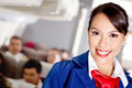 Air stewardess Royalty Free Stock Photography