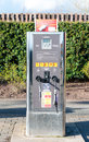 Air and water dispensor for motorists at a service station, UK Royalty Free Stock Photo