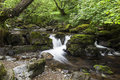 Aira beck river near ullswater in english lake district cumbria england uk Royalty Free Stock Image