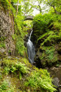 Aira Force waterfall Ullswater Valley Lake District Cumbria England UK