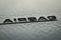 Airbag Royalty Free Stock Photo