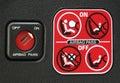 Airbag instruction Royalty Free Stock Photo