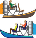 AirBoat Vector eps