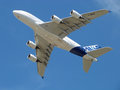 Airbus 380 Royalty Free Stock Photo